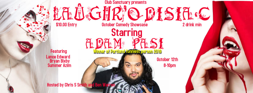 Laughrodisiac! October Comedy Spooktacular