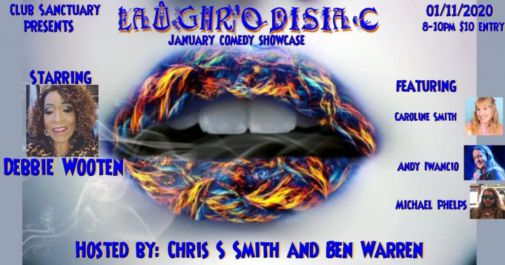 Laughrodisiac: January Comedy Showcase