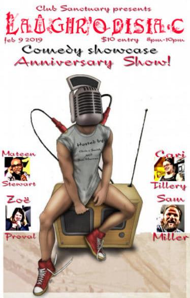 Laughrodisiac, Anniversary Show!