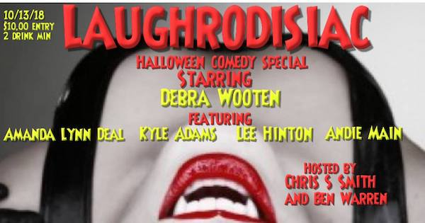 Laughrodisiac: Halloween Comedy Showcase