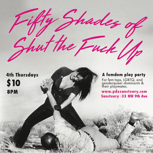 50 Shades of STFU! 1st Anniversary!