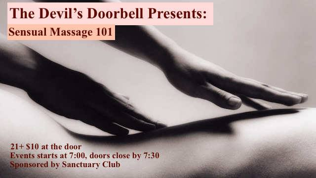 The Devil's Doorbell: Sensual Massage 101