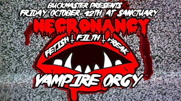 NecroNancy Vampire Orgy