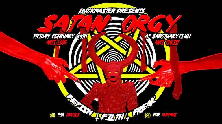 Buckmaster presents: Satan Orgy
