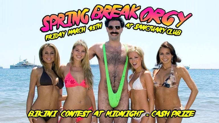 Spring Break Orgy!
