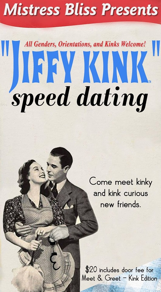 Jiffy Kink Speed Dating