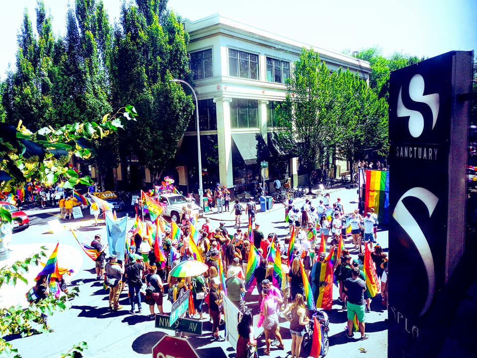 Pride Parade w/ Sanctuary